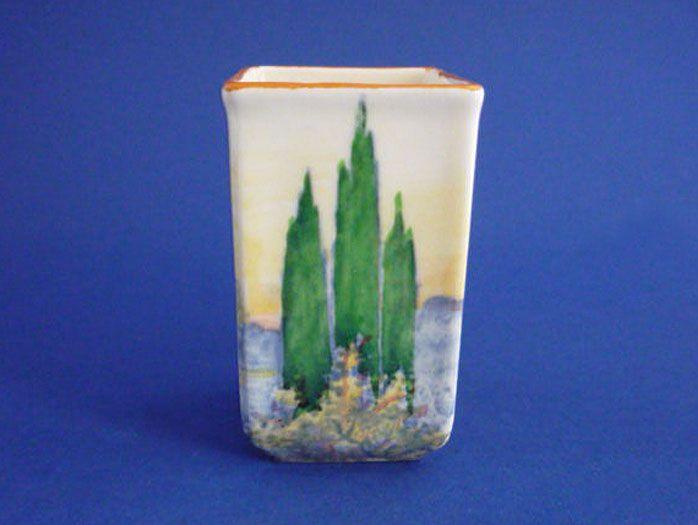 Royal Doulton 'Woodley Dale' Miniature 7016 Vase D5369 c1934