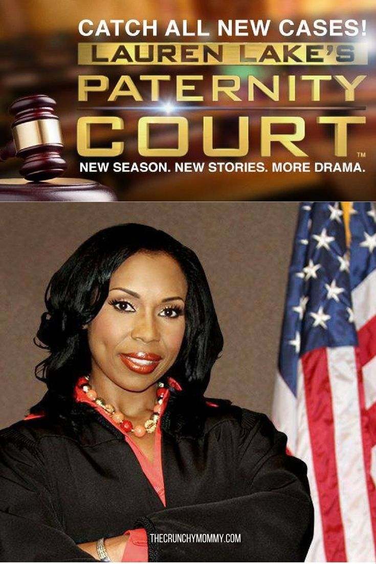 One of my guilty pleasures is watching courtroom shows. They're so scandalous! After interviewing Lauren Lake of Paternity Court I feel good about watching.  #ad http://www.thecrunchymommy.com/lauren-lake/