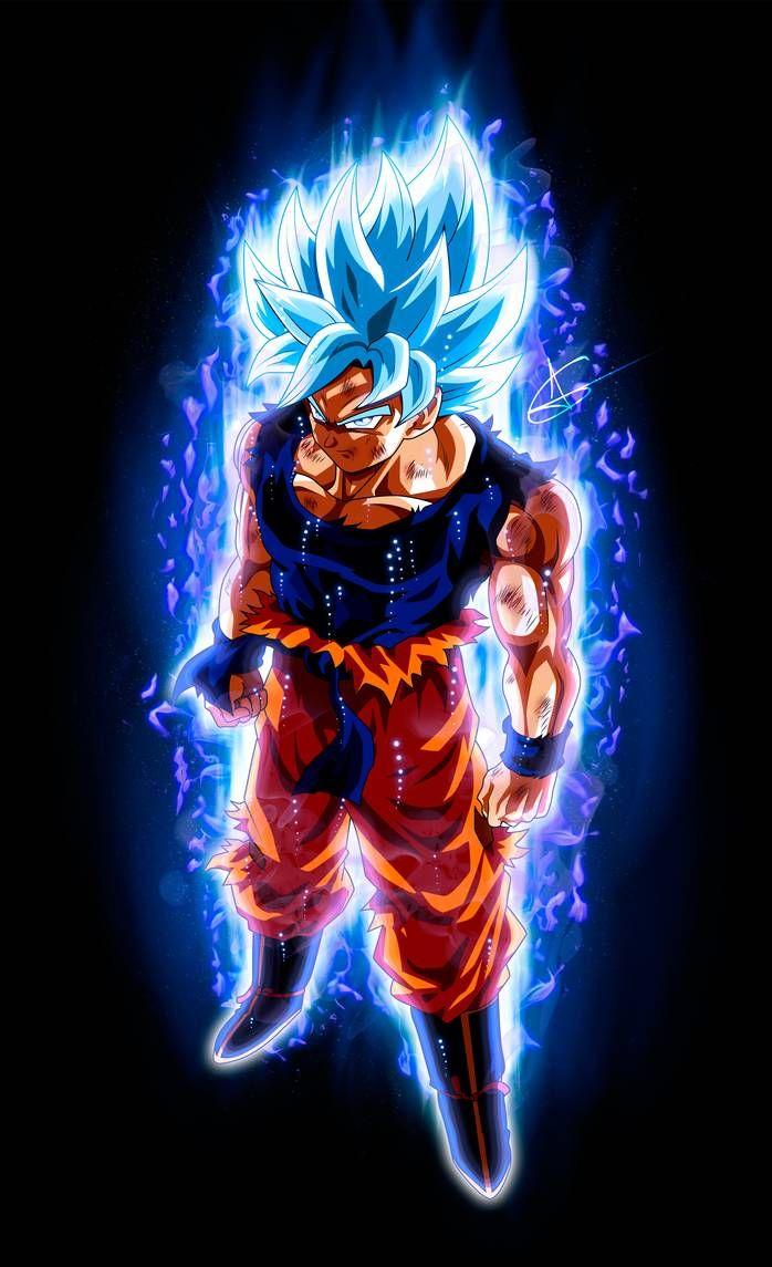 Goku Ultra Instinct Ssj Blue By Arlesonlui On Deviantart Goku Super Saiyan God Dragon Ball Super Manga Goku Super Saiyan