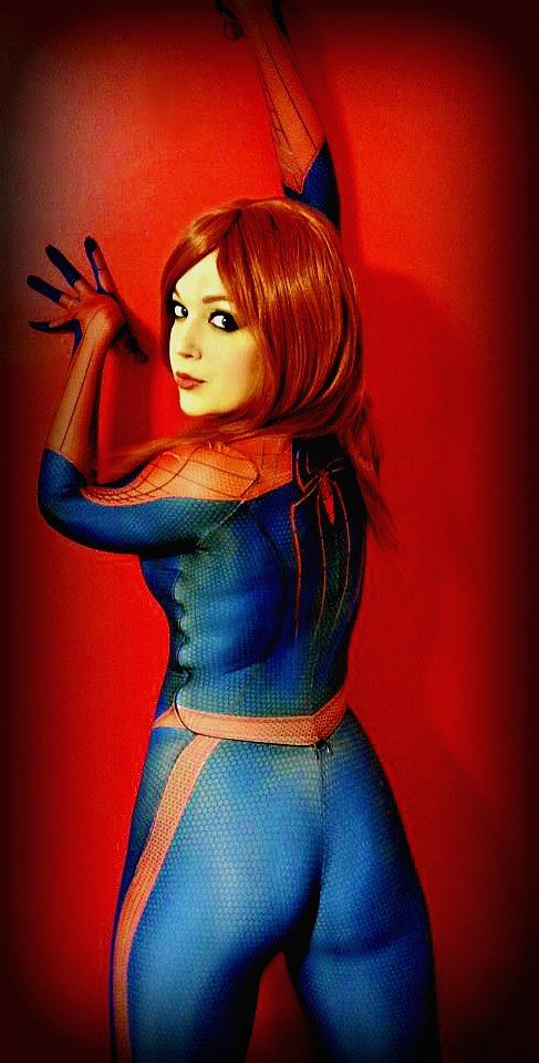 Mary Jane Watson (Dressed as Spiderman) - Nicole Marie Jean - Sexy Cosplayers | Marvel cosplay ...