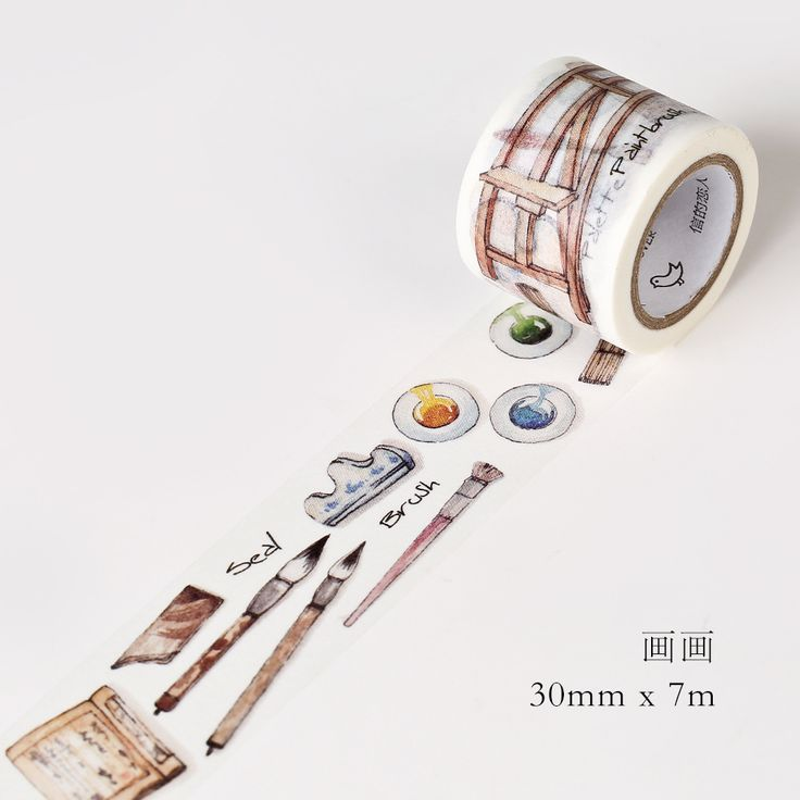 3 CM Breed Mooie Schilderen Supply Washi Tape DIY Scrapbooking Sticker Label Afplakband School Office Supply in maat:breedte: 3 cmlengte: 7 M van kantoor plakband op AliExpress.com | Alibaba Groep