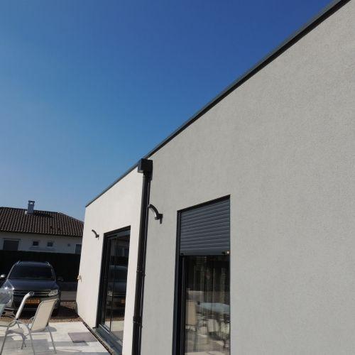 Knutange - R+1 - 155 m2 - Maison ossature bois Lorraine Moselle