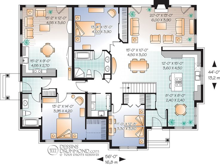 29 best multi-generation homes images on pinterest | home plans