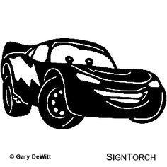 carros disney silhouette - Pesquisa Google                              …