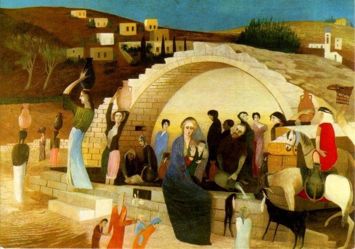 Tivadar Csontvary Kosztka (1853-1919) - Mary's Well at Nazareth, 1908
