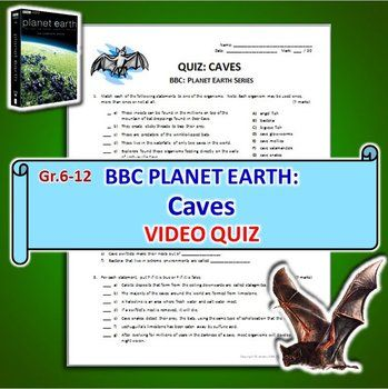 this editable one page video quiz with answer key is for bbc planet earth 39 s cave episode. Black Bedroom Furniture Sets. Home Design Ideas