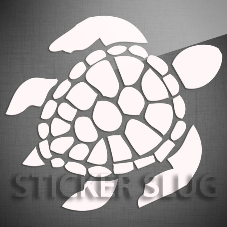 Sea Turtle Stickers Pins Patches Decals Car Stickers