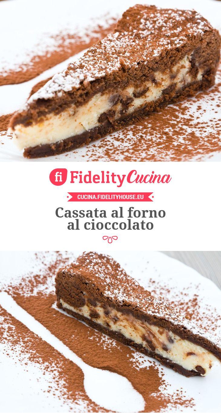 Cassata al forno al cioccolato