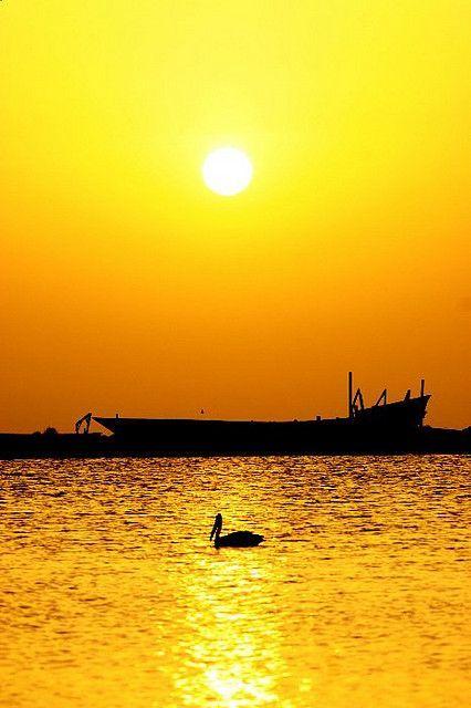 Glazing Sunset over Tihama, Yemen /// #travel #wanderlust