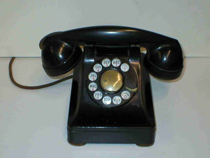 A Phone From The We Had A Party Line And Their Line Was One Long Ring And  Ouru0027s Was Two Short Rings. They Didnu0027t Get Very Many Calls So The Phone Was  ...