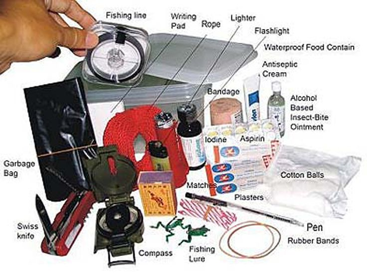Preppers List of Survival Items ( Point Checklist)