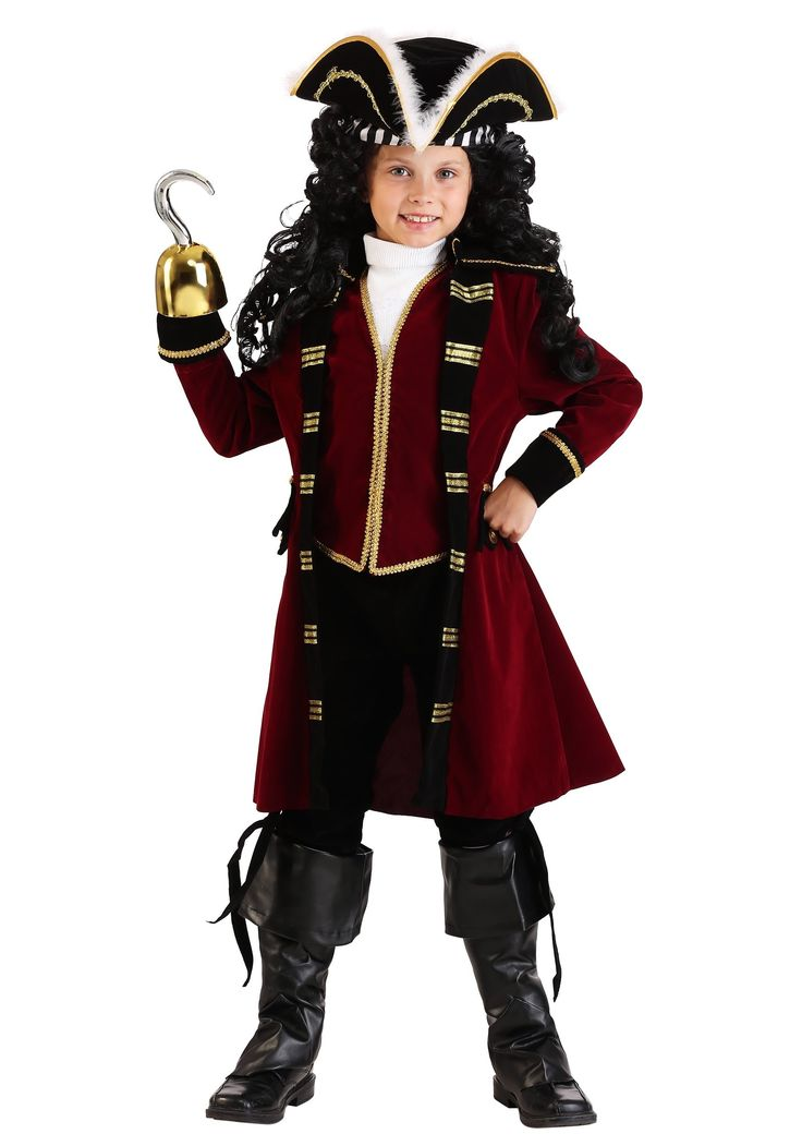 Pirate Costume Diy Boy Captain Hook
