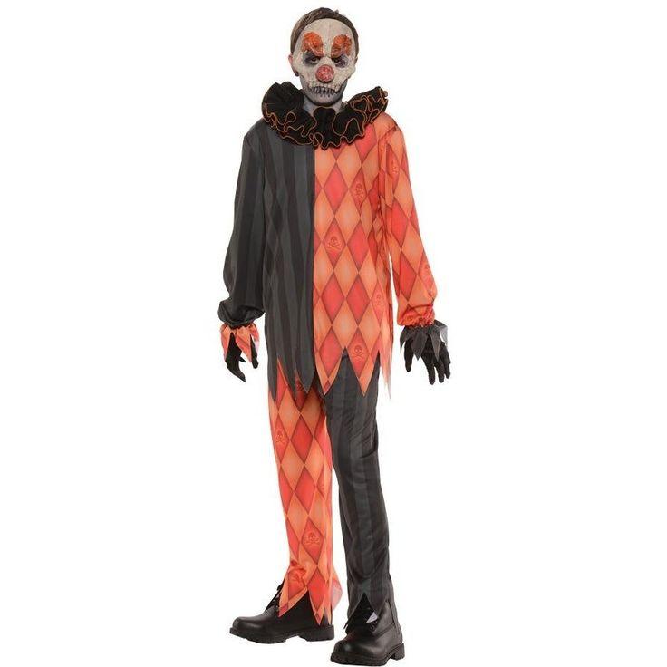 Evil Clown No Mask Child Mediu