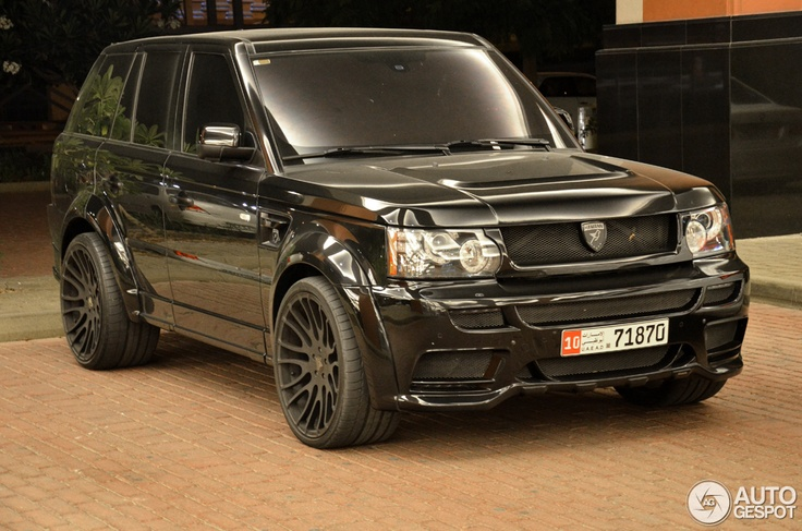 Range Rover Sport..I've got the 2007 model, I want this one next, sweet ride!