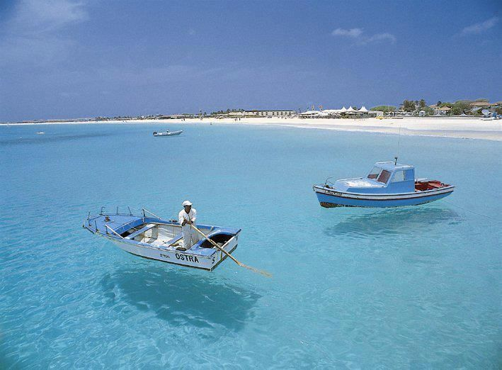 Sal, Cabo Verde, Cape Verde, agua cristalina, water clear as crystal