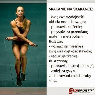 Szczupła, zdrowa, wyrzeźbiona: Skakanka, czyli o tym jak bez problemu skakać ponad godzinę :)