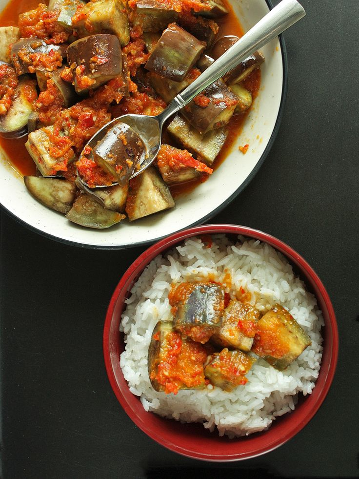 Terong Balado - Eggplants with Chili Sauce <3