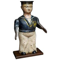 Hello Sailor - Sailorsu0027 Relief Donation Box - England c. 1915 - cast iron  sc 1 st  Pinterest & 168 best COLLECTION BOX u0026 Savers Bank images on Pinterest | Piggy ... Aboutintivar.Com