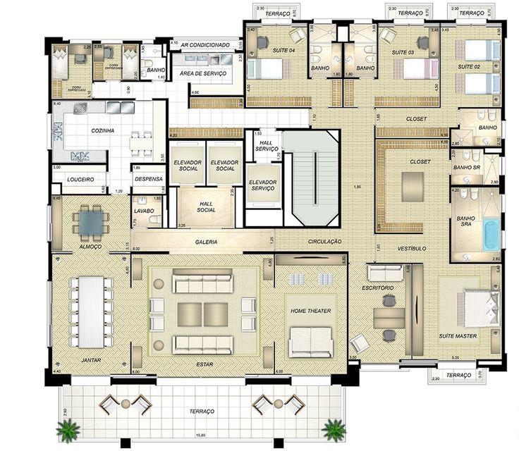 San Paulo Apartments: 393 Best Floorplans I Love Images On Pinterest