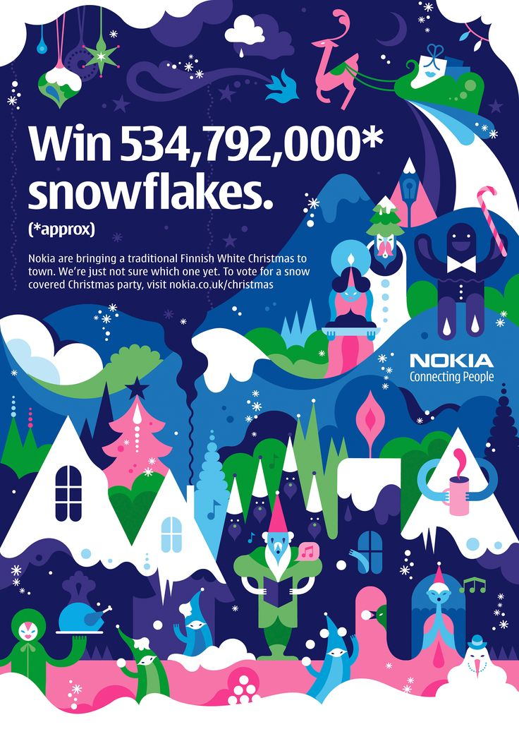 Nokia Christmas Campaign by Janine Rewell | Agent Pekka