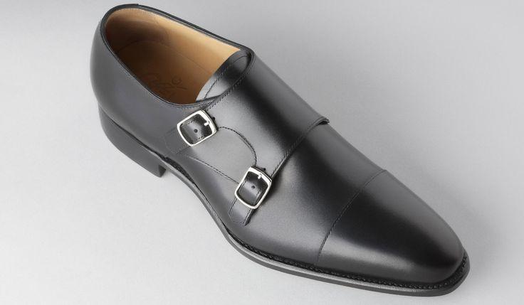 erico chaussure ville boucle box noir
