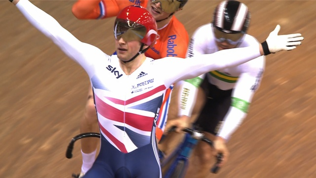 Jason Kenny and Simon Yates win World cycling golds for Britain