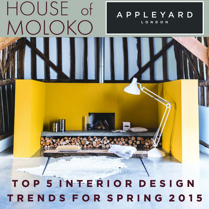 Trend Watch: Top 5 Interior Design Trends for Spring 2015