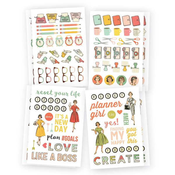 The Reset Girl icon stickers - 6,20 €