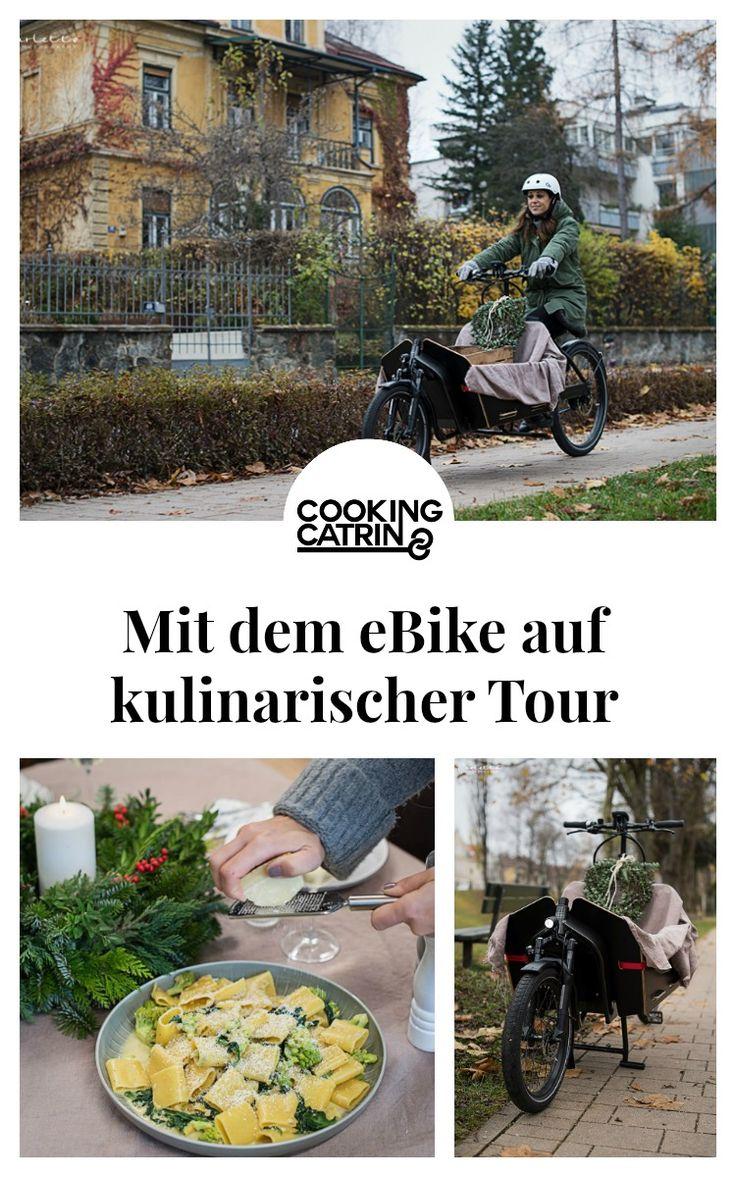 ebike, bike, fahrrad, rad, fahrradfahren, lastenrad, kulinarische reise, kulinarische tour, helm, helmet, reifen, wheels, nature, pasta, winterpasta
