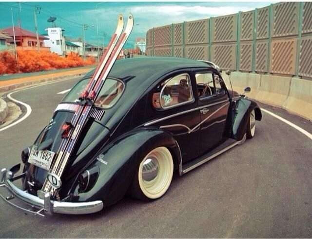 Black beetle low rider.