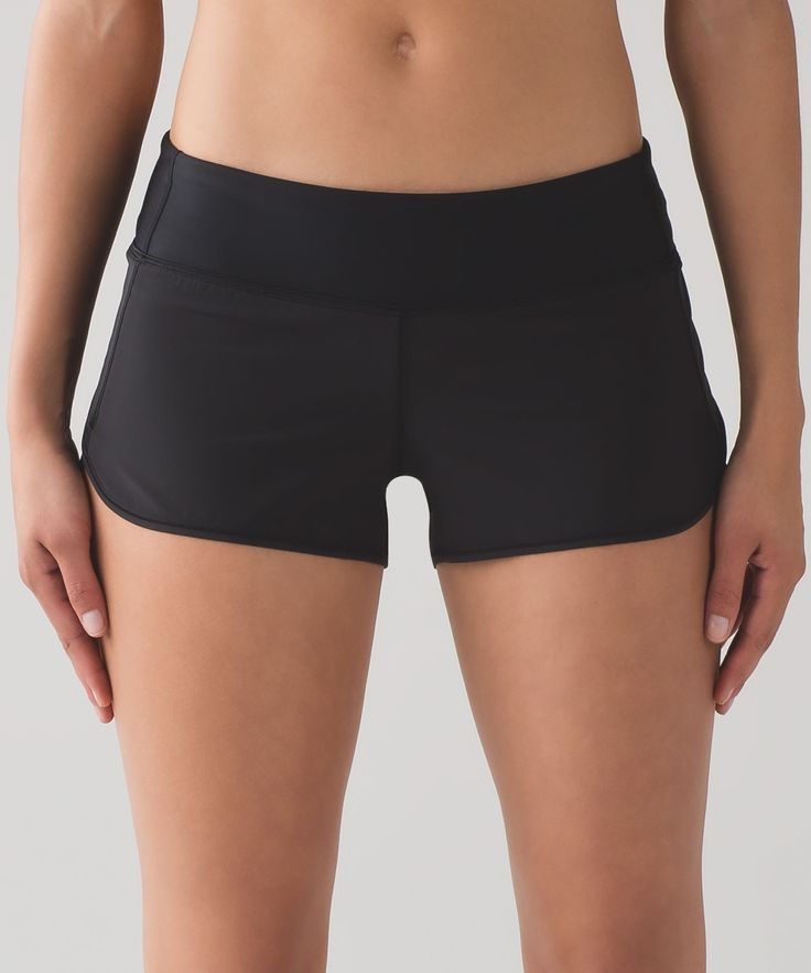 We designed this water-friendly version of your favourite run short to take you from sweat to swim.