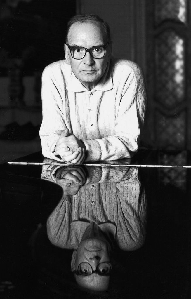 Ennio Morricone, the amazing Italian composer and conductor, who has written music for more than 500 motion pictures and television series, in a career lasting over 50 years. The Mozart of the movies.
