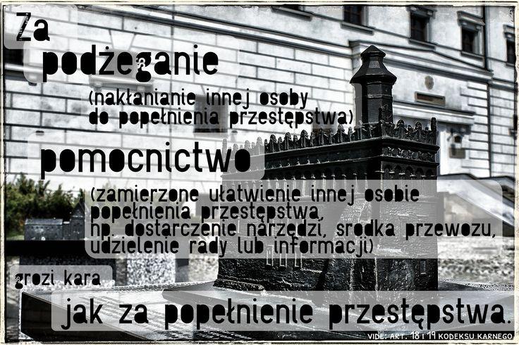 odpowiedzialność karna za podżeganie i pomocnictwo jak za sprawstwo www.adwokat-sarzynski.pl adwokaci sandomierz stalowa wola nisko mielec nowa dęba lublin adwokat sarzyński radca prawny