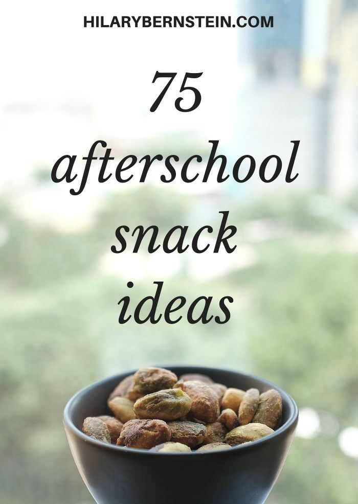 Have a house full of hungry kids? Try these 75 real food afterschool snack ideas!