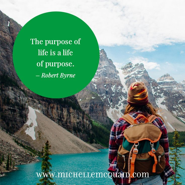 The purpose of life is a life of purpose. - Robert Byrne #spirituality #quote #life #strengths