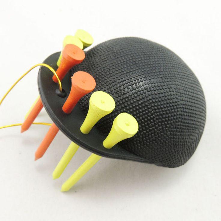 Бесплатная доставка портативный резина губка мяч для гольфа шайба Cap очиститель для очистки чашки удобно ти держатель черный
