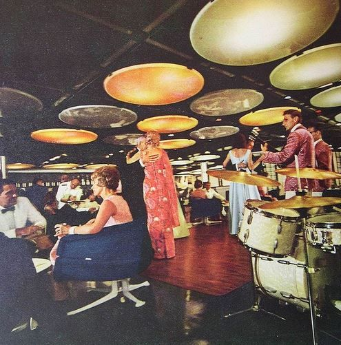 Bar Night Club 1960s/ can we go here for our next night out ??