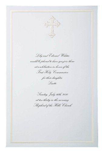 Wilton Faith Cross Invitations by Wilton. $6.88. Wilton Faith Cross Invitations. Save 31%!