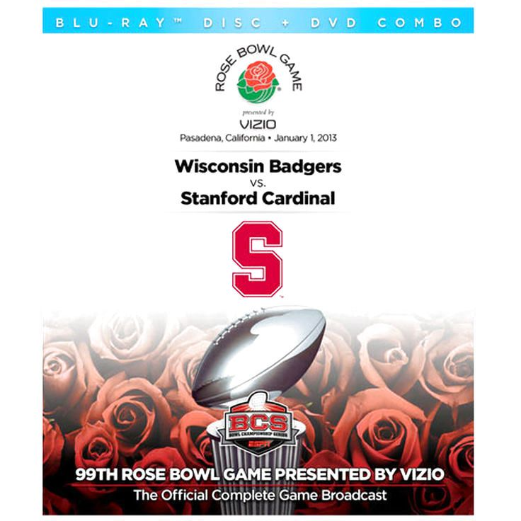 Stanford Cardinal 2013 Rose Bowl Champions DVD/Blu-ray Combo Pack - $18.04