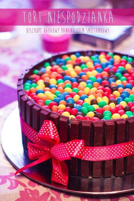 Tort Niespodzianka - http://www.mytaste.pl/r/tort-niespodzianka-7896868.html