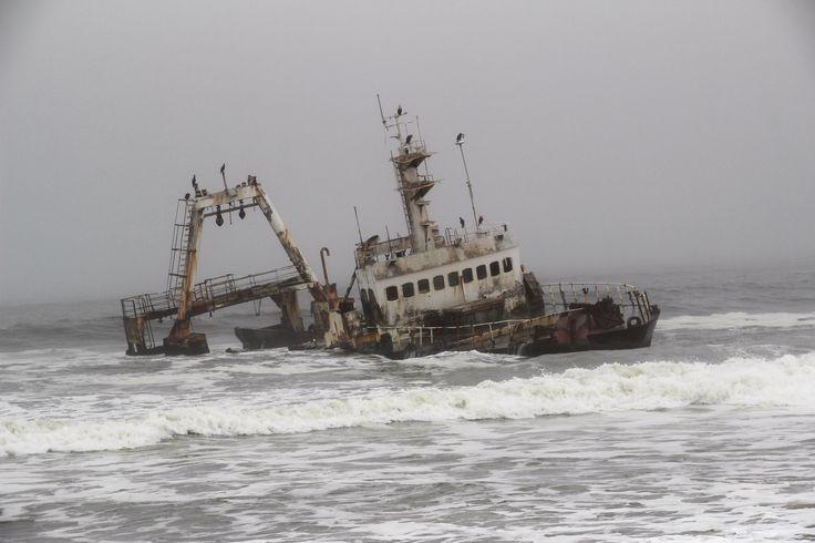 Shipwreck, Skeleton Coast, Namibia