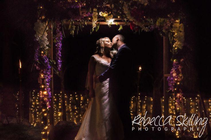 Soft light at DIY wedding.