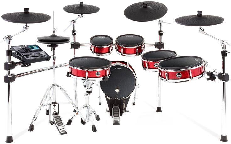 Alesis Strike Pro - 6-piece Electronic Drum Kit with Mesh Drumheads image 1