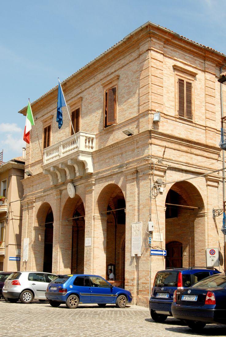 Palazzo comunale #marcafermana #monteurano #fermo #marche