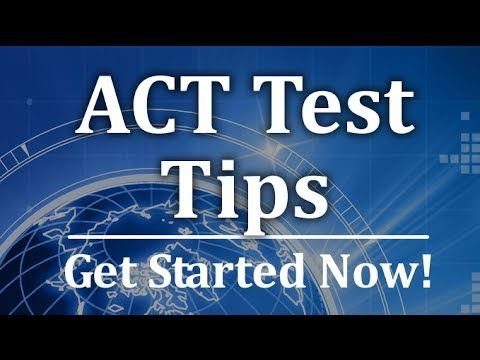 ACT Test Tips -  Free ACT Math Tutorial http://www.actsecrets.com  The topic covered in this video is only a small part of the ACT Exam/Test; you'll find a ton of in-depth study materials for all ACT subjects when you click the link above.  Relying on the right study materials is absolutely essential for success on the ACT test. What you see in the video is merely a preview of the high quality prep materials in our ACT study guide. #acttest #actprep #mometrix