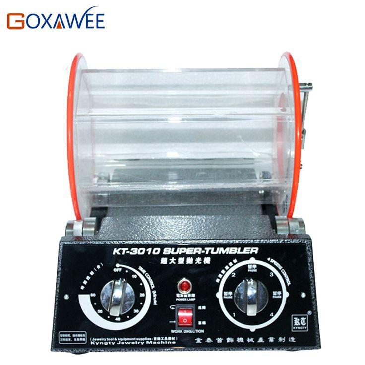Goxawee 12kg rotary polishing machine for jewelry