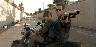 Terminator 2: Judgment Day (1991) - Arnold Schwarzenegger, Linda Hamilton (all terminator movies)