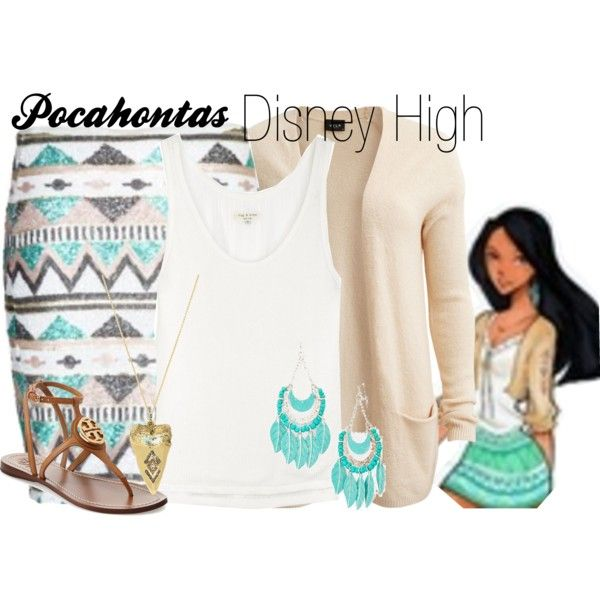 """Pocahontas Disney High"" by amarie104 on Polyvore"