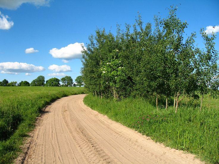 Piękne widoki na trasie.  www.it.mragowo.pl