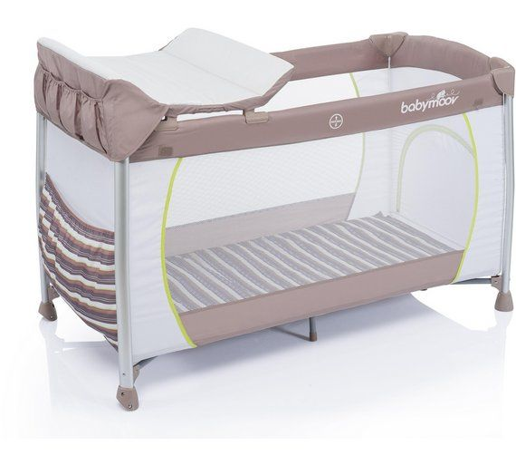 Babymoov Curve Dream Travel Cot - Taupe and Almond £109  The Curve Dream is the most comfortable travel cot that offers the benefits of a real bed. Baby will enjoy a very peaceful night thanks to the comfy mattress offering two sleeping positions. Easy to transport, the Curve Dream is very convenient for parents with its removable and folding changing pad
